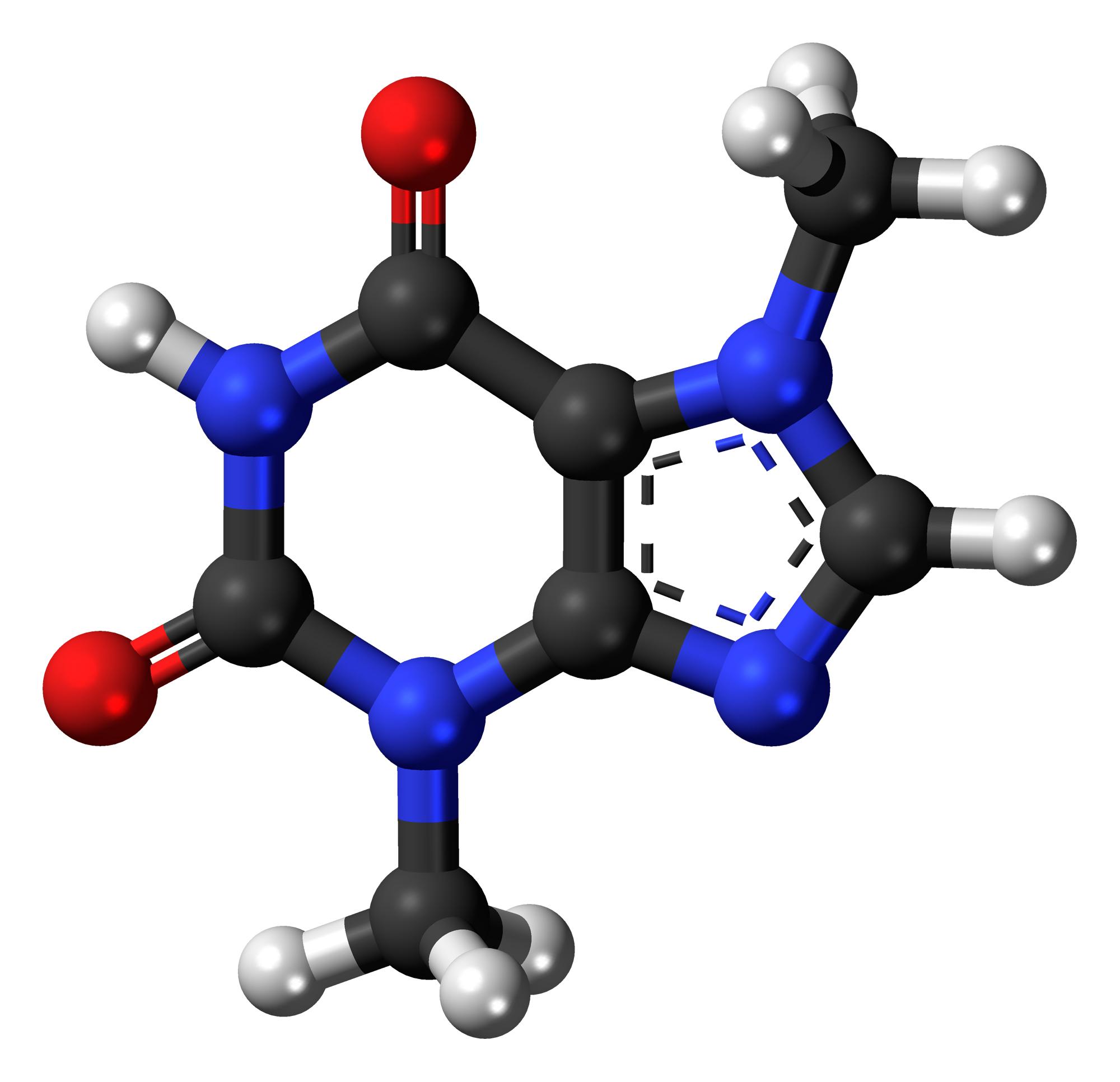 Theobromine_3D_ball
