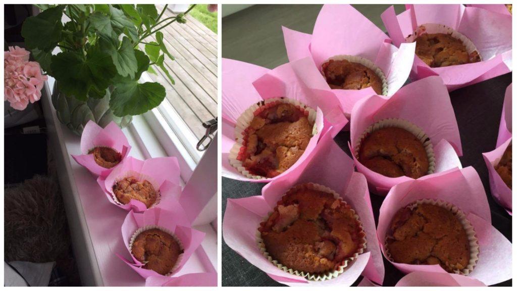 muffins-jordgubbar-midsommar